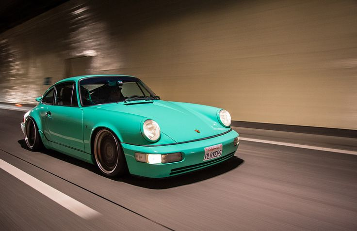 Porsche 911 in Tiffany Blue - my kind of car!