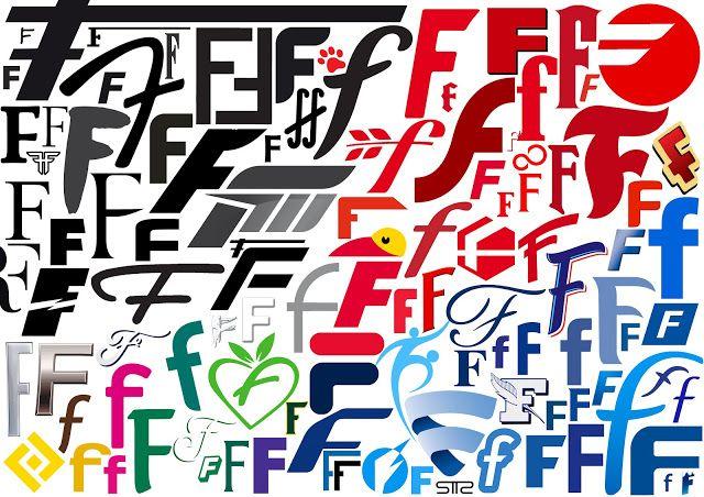 """SanTTcheZ: Alphabet logo typographie: Lettre """"F"""" bySTTZ"""