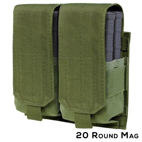 Condor MOLLE Double M14 Mag Pouch - Gen II