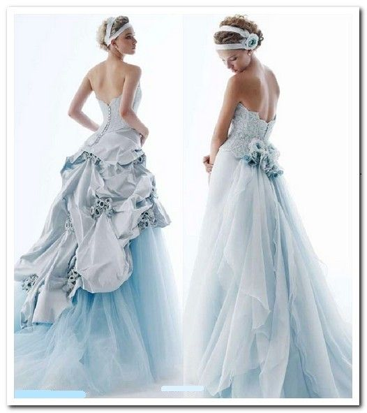Traditional Blue Irish Wedding Dresses - Blue Irish Wedding Dress ...
