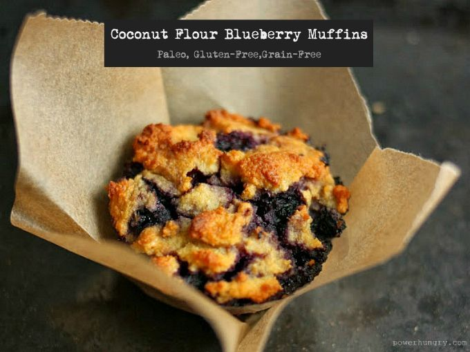 COCONUT FLOUR BLUEBERRY MUFFINS: It's a cold, wet and grey in my neck of the woods, so I have had plenty of incentive to head to the kitchen and bake. Yes, I love the results of what I prepare, but the sweetest moment is standing in front of the open oven door at the ...