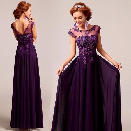 Plum Dresses For Weddings Online