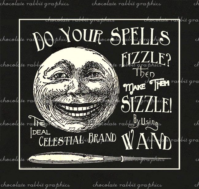 halloween vintage witch wand label apothecary digital vintage halloween clip art decorations vintage halloween clipart