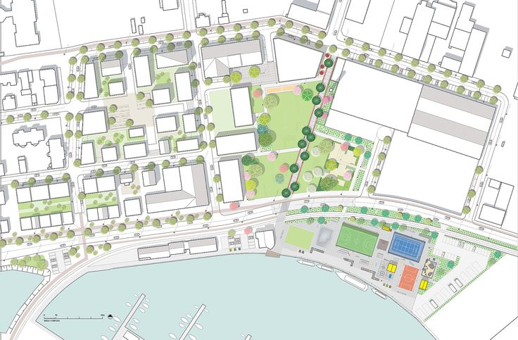 Mandaworks Tampere Innovation Bay Masterplan Finland
