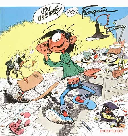 Gaston Lagaffe. favorite. COMIC BOOK