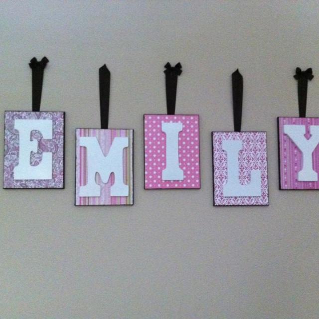 Name in nursery
