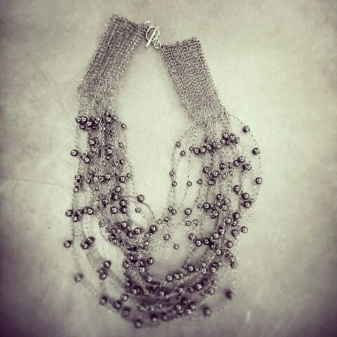 Handcrafted with pearls. Exclusively for Contessina Athens, www.contessina.gr