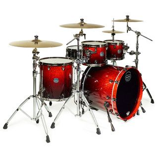 Mapex Saturn V MH Exotic Series Sound Fusion, Cherry Mist Maple Burl