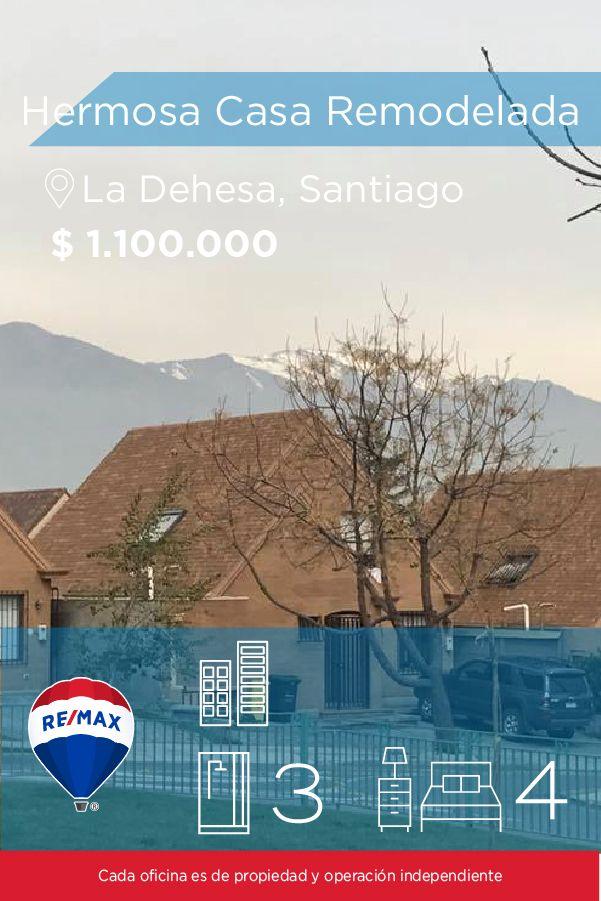[#Casa en #Arriendo] - #Hermosa Casa #Remodelada : 4 : 3  #propiedades #inmuebles #bienesraices #inmobiliaria #agenteinmobiliario #exclusividad #asesores #construcción #vivienda #realestate #invertir #REMAX #Broker #inversionistas #arquitectos #venta #arriendo #casa #departamento #oficina #chile