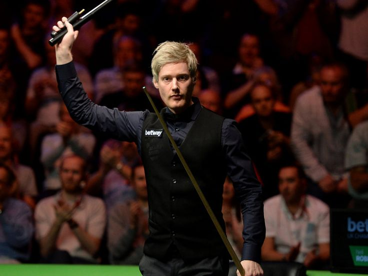 Neil Robertson advanced to the final of snooker's Welsh Open with a 6-4 victory over Mark Allen.