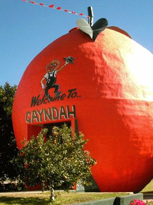 The Big Orange, Gayndah, Queensland
