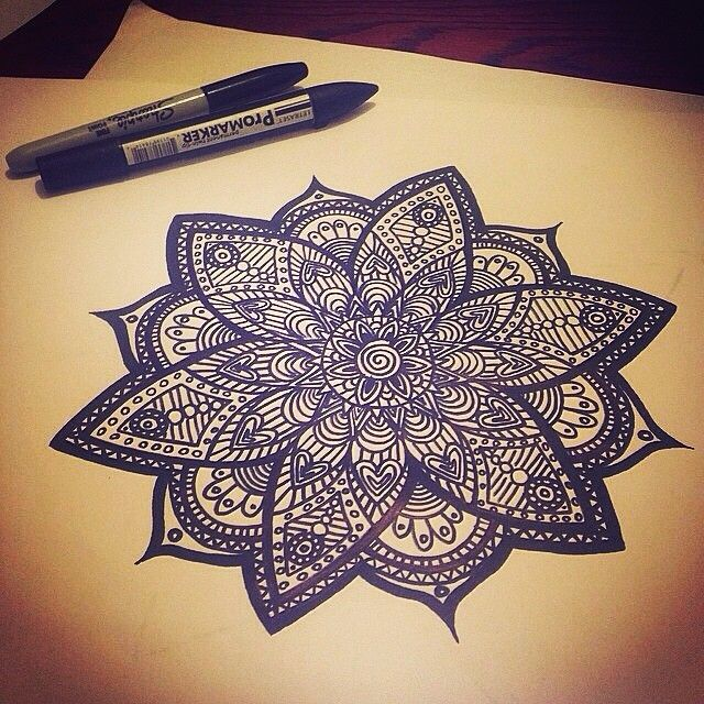 Mandala Designs, cats-or-get-the-fuck-meowt: #mandala #art