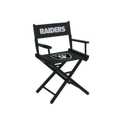 Imperial NFL Table Height Director Chair NFL Team: Oakland Raiders