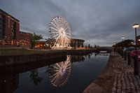 Liverpool Echo Arena and Big Wheel