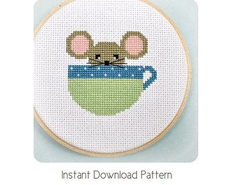 Quality Cross Stitch Patterns and Kits for Beginners by Sewingseed