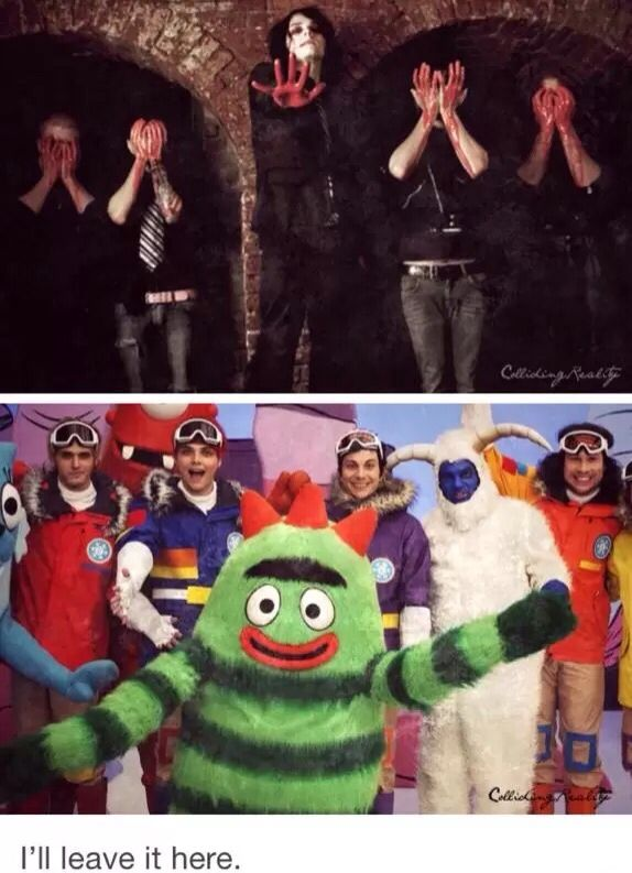 when I was a kid I watched yo gabba gabba everyday I missed one show and im pretty sure it was this...