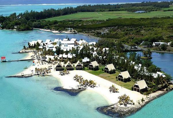 Le Preskil Beach Resort Mauritius Aerial View