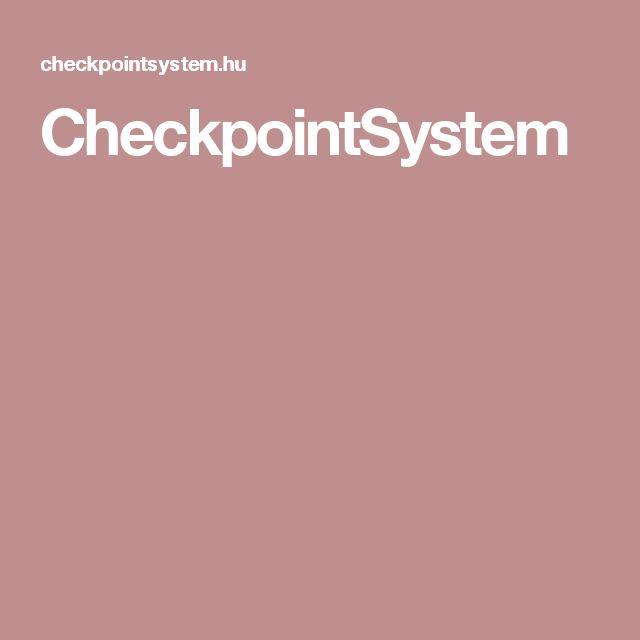 CheckpointSystem