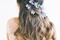 muscari flower crown
