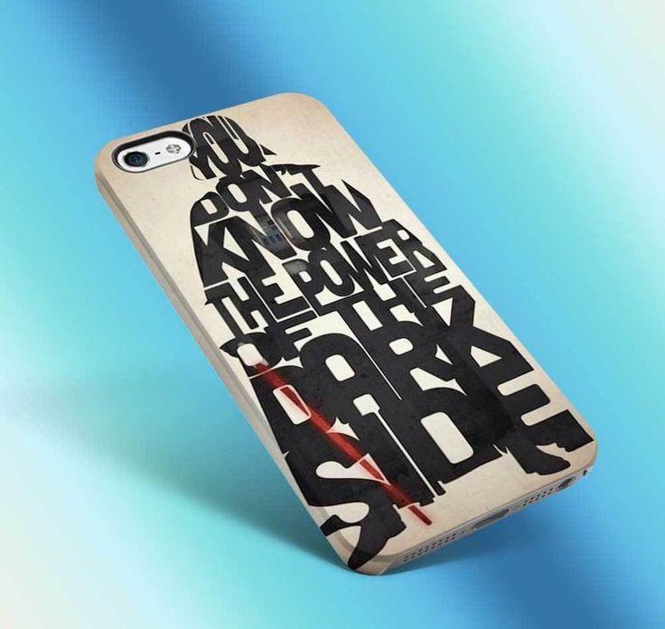 darth vader iphone case 3d star wars last jedi typhograhy vintage 6 6s funny 3 #UnbrandedGeneric
