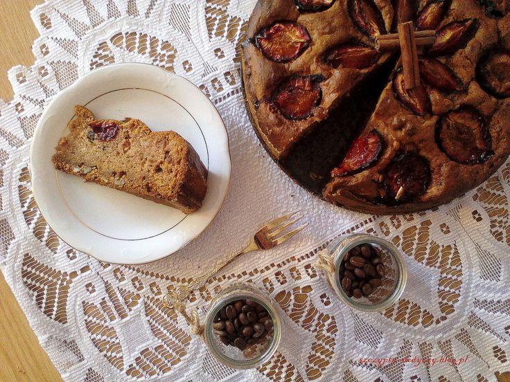 Ciasto dyniowe ze śliwkami PRZEPIS