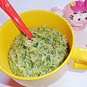 Orez cu spanac pentru bebelusi de la 8-10 luni