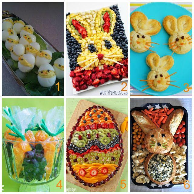 Idee sfiziose per servire cibo decorato in tavola a Pasqua | donneinpink magazine