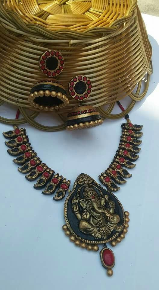 Real terracotta jewelry 3500/-