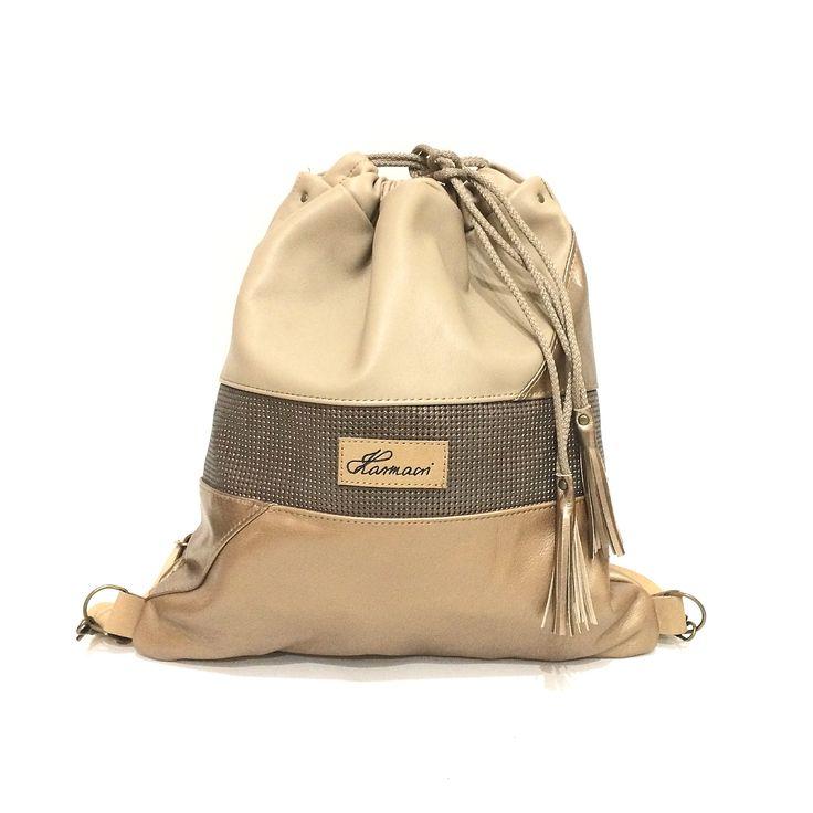Crema Triangle Karmacsi backpack