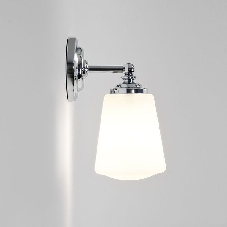 From dusk lighting · the anton bathroom wall light is finished in polished chrome and is fitted with a white