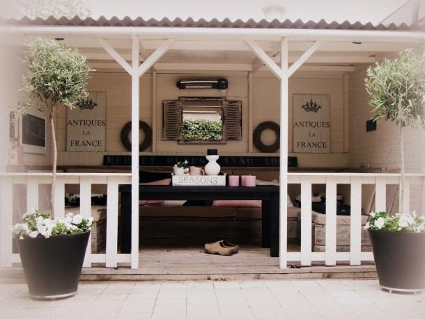 Mooie verande bruin wit met roze accenten Door Mariannes68