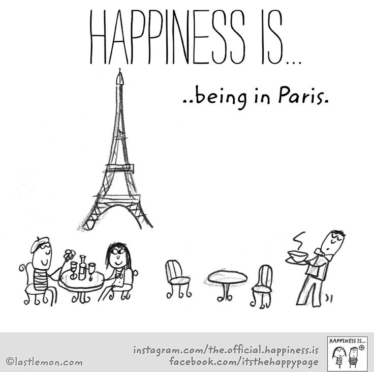 ~Happiness is being in Paris~