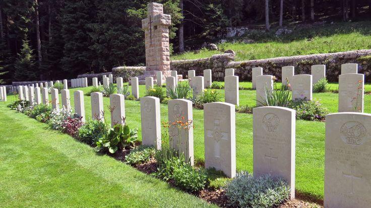 Altopiano di Asiago, Cimitero inglese di Barenthal