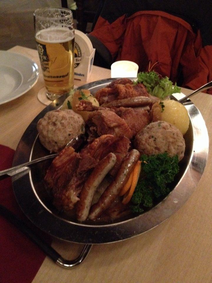 Augustiner Klosterwirt- recommended german restaurant.