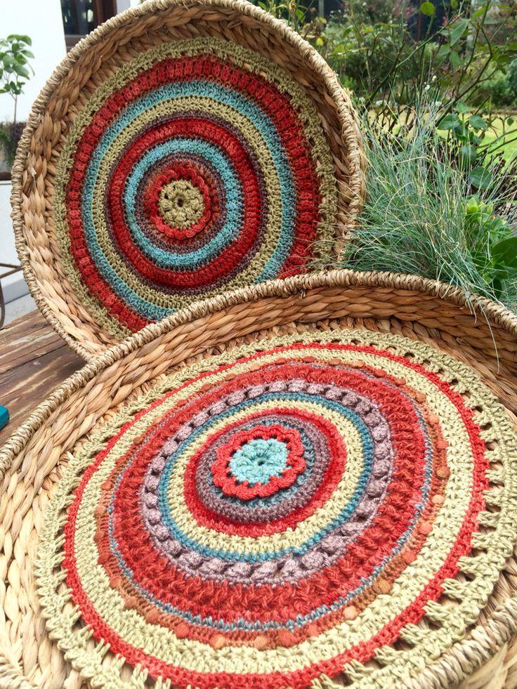 Crochet Mandala Tray (MOS)