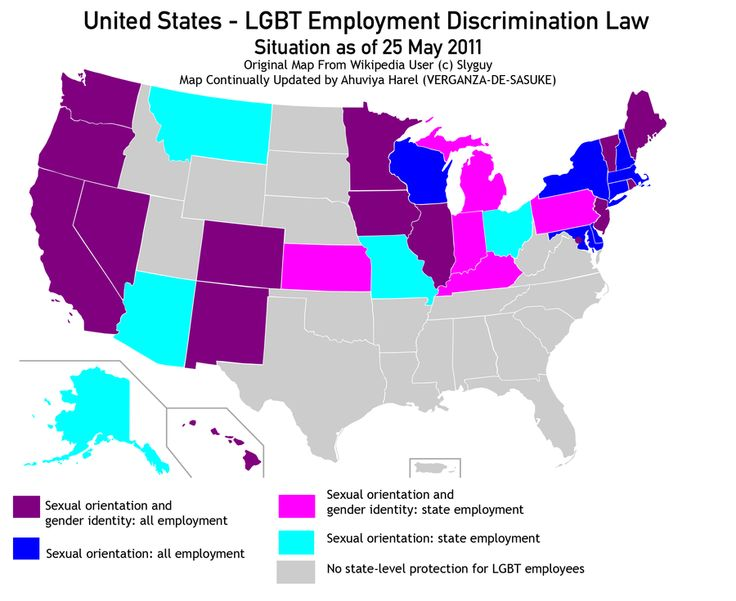 Law prohibits discrimination base on sexual orientation