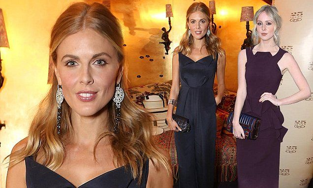 Donna Air and Diana Vickers ooze sophisticated glamour