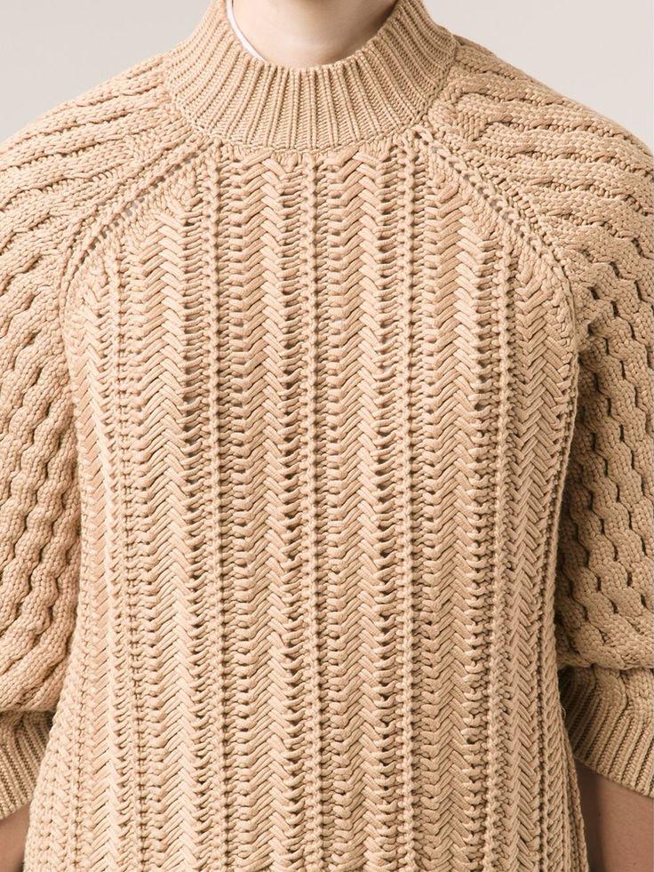 3.1 Phillip Lim woven knit sweater