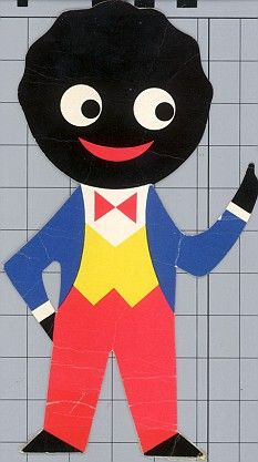Discarded: The famous golliwog on Robertson's jam