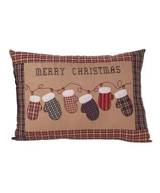 Christmas pillow.