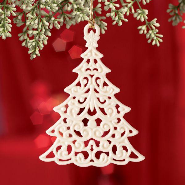 Lenox Christmas Tree Toppers Part - 22: Snow Fantasies Tree Ornament By Lenox