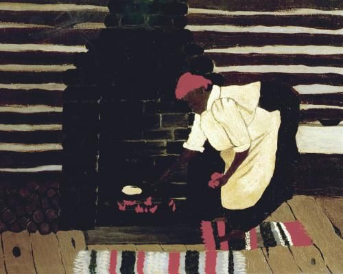 The Hoe Cake by Horace Pippin