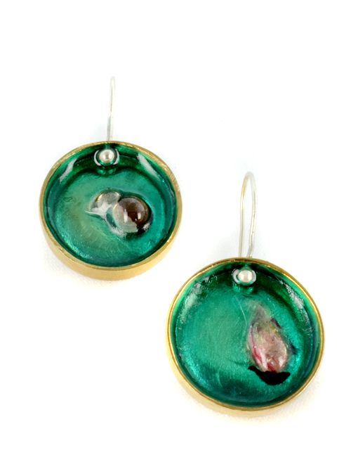 small round earrings 2