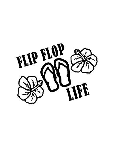 Flip Flop Life (Specify Color Otherwise We Ship White) Decal Factory http://www.amazon.com/dp/B0129G1YNO/ref=cm_sw_r_pi_dp_e85xwb1CD30XX
