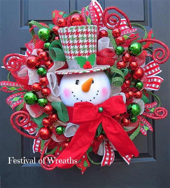Best 600 deco mesh wreaths bows wih some how to videos images on christmas wreath deco mesh wreath christmas front door wreath christmas decoration snowman mesh wreath christmas deco mesh wreath solutioingenieria Gallery
