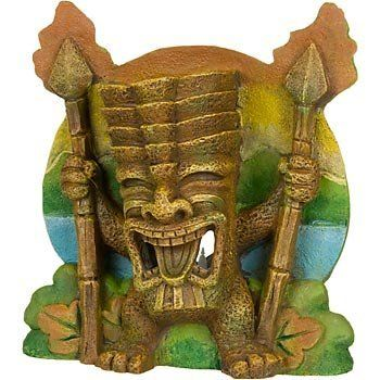 17 best images about tiki on pinterest hawaiian tiki for Moai fish tank