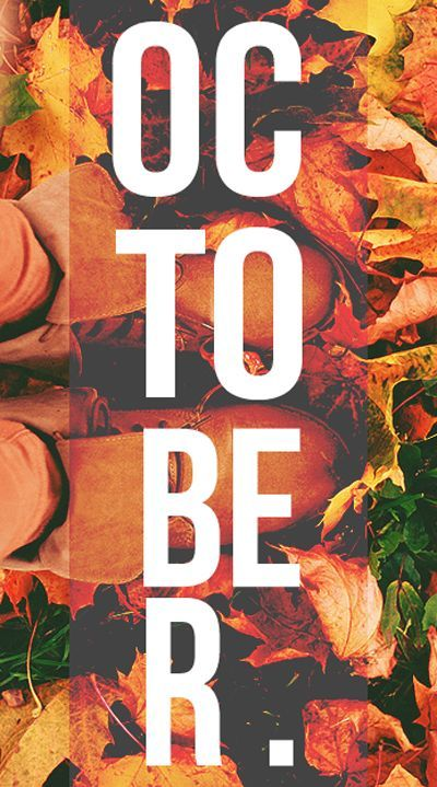 Fab October - Tap to see great October quotes wallpapers! | @mobile9