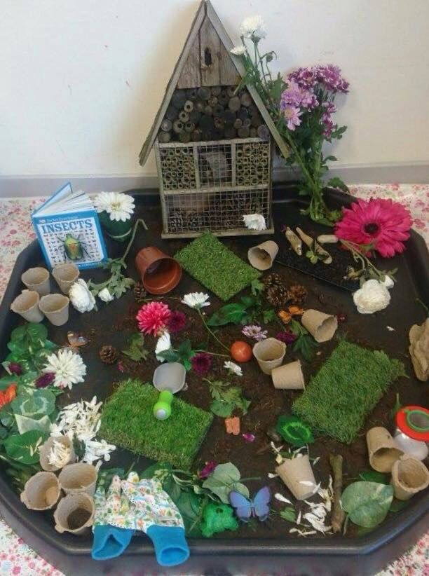 1000 images about tuff tray ideas on pinterest sensory for Tray garden designs