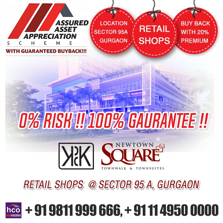 #KPDKNewTownSquare- Secured Retail Shops, with Best Schemes. For More Info:-http://bit.ly/2cpYmb8