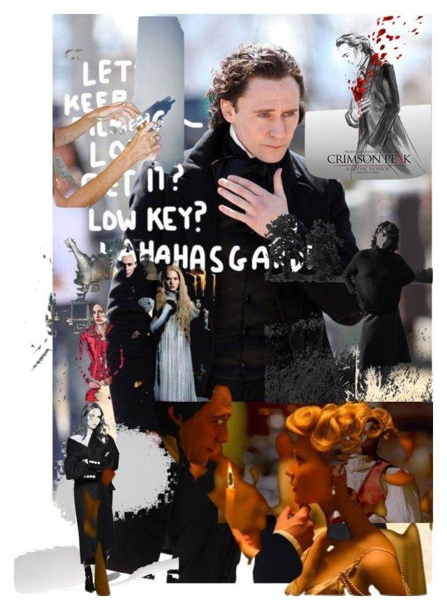 """tom hiddleton"" by leotajane ❤ liked on Polyvore featuring art, tomHiddleton and CrimsonPeak"